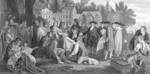 William Penn's Treaty with Native Americans